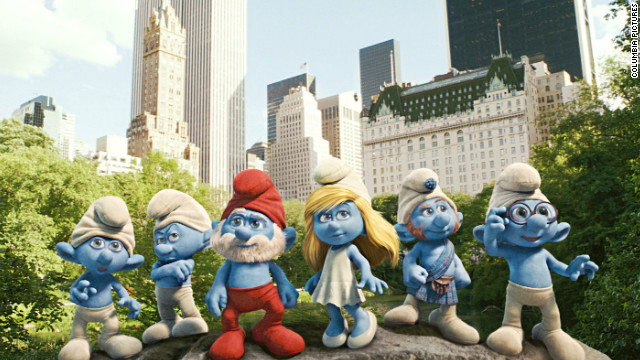 Popular '80s show &quot;The Smurfs&quot; was adapted into a summer blockbuster this year.