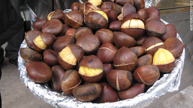 In the Big Apple, the aroma of chestnuts