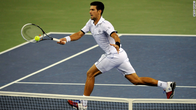 Novak Djokovic had won just one grand slam event prior to 2011, yet the Serb was to proved unbeatable during the year. His US Open victory was his third of the year, underlining his new status as the world's top tennis player.