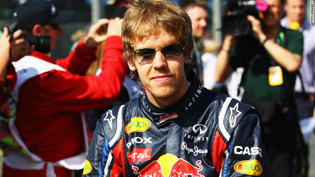 The sport of Formula One belonged to one man, Sebastian Vettel. The 24-year-old German's victory in the opening Australian Grand Prix proved the start of a dominant year which saw him win 11 races and become the youngest driver in history to retain his world title.