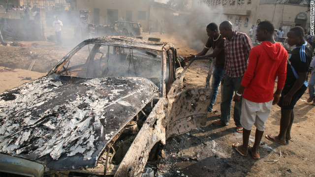 Christmas carnage in Nigeria; 5 churches bombed