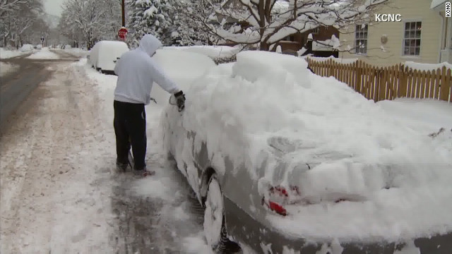 Snowfall in Denver, Colorado, may prevent UPS deliveries in time for Christmas.