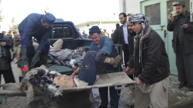 Un suicida ataca un cortejo fúnebre en Afganistán
