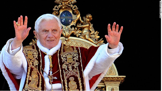 Pope Benedict XVI delivers his annual Christmas message.