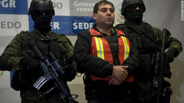 El ejército mexicano presenta a Felipe Cabrera, lugarteniente de «El Chapo» Guzmán