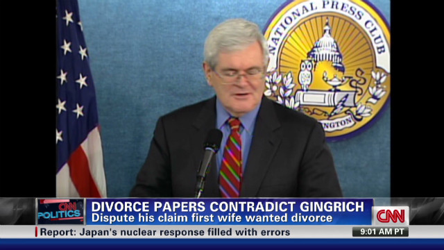 111226053100 nr gingrich divorce papers 00001215 story top Exclusive: Court documents contradict Gingrich on divorce