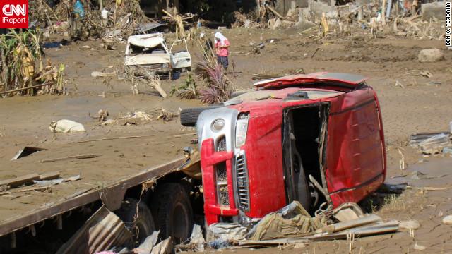 La cifra de muertos por la tormenta «Washi» supera los 1.200 en Filipinas
