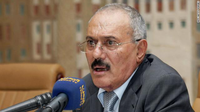Yemeni President Ali Abdullah Saleh has been an ally of the United States in its war on terrorism.