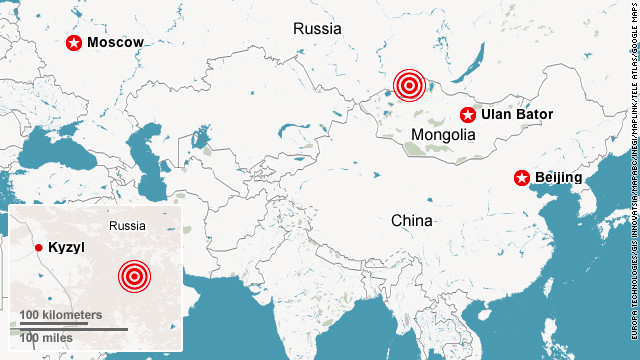 6.6 magnitude earthquake hits southeastern Russia, USGS says