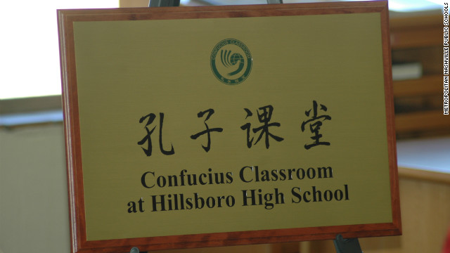 Schools turn to Chinese language classes with help of Chinese government