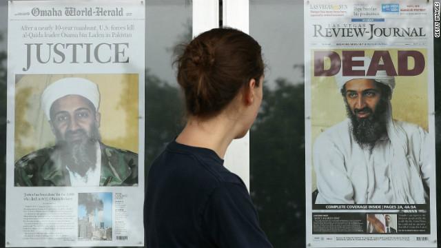 Un juez prohíbe mostrar las imágenes de Osama bin Laden muerto