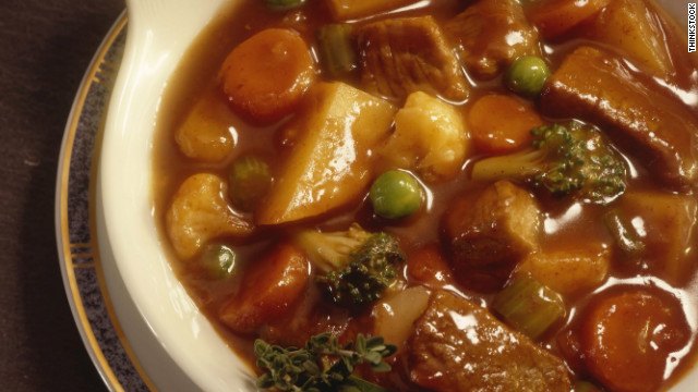 Breakfast buffet: National pepper pot stew day