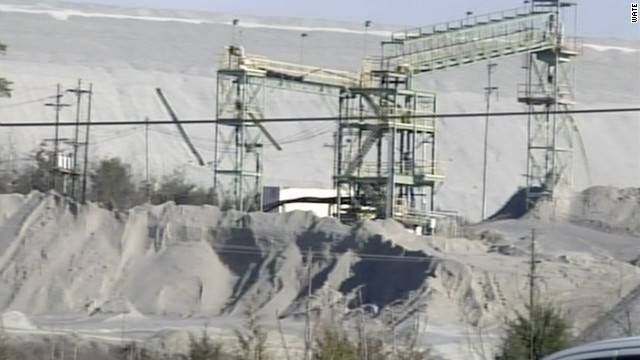 Three miners became trapped in an eastern Tennessee zinc mine after an underground fire.