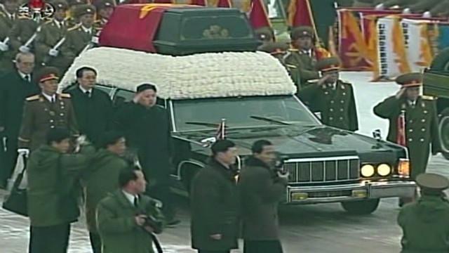 Corea del Norte se vuelca a las calles de Pyongyang por el funeral de Kim Jong Il