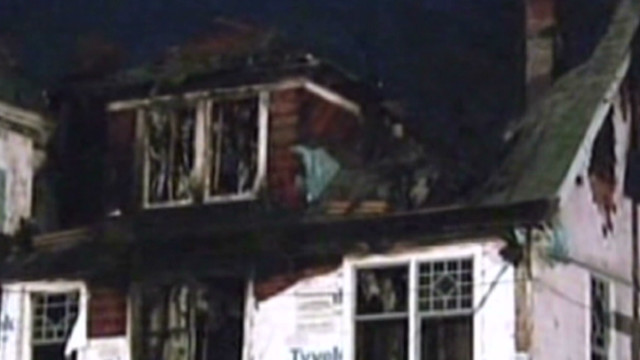 The fire, broke out around 5 a.m. Christmas Day in a three-story Victorian home. The house was later razed.