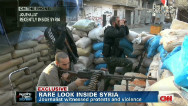 Syria protesters come under sniper fire