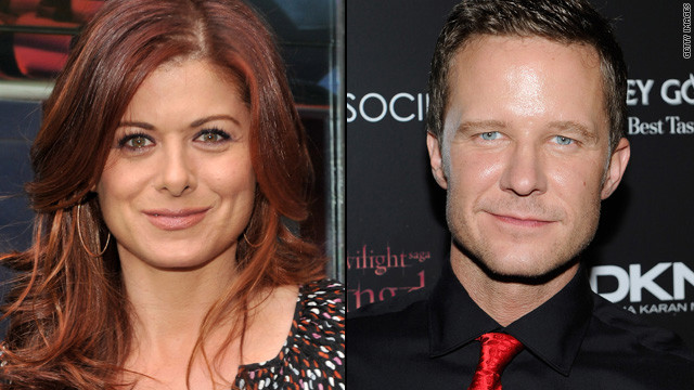 Is Debra Messing dating her 'Smash' co-star?