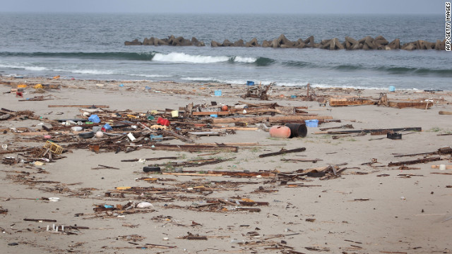 Tsunami debris spotted along West Coast