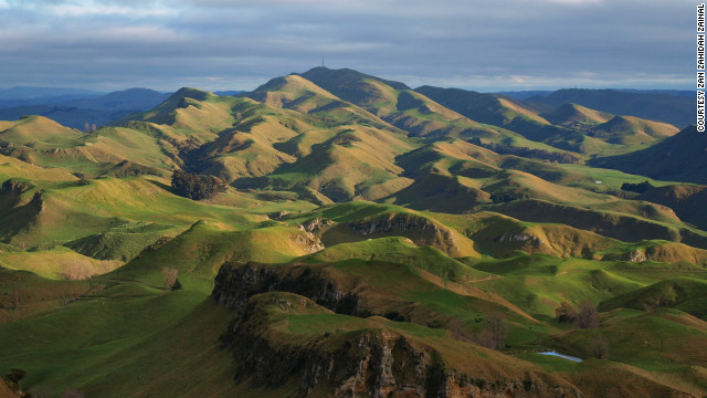 "Zan Zahidah Zainal captured this ""indescribably amazing view, 400 meters above sea level"" of Te Mata Peak, located in Hawkes Bay, Napier, in the North Island. ""The panoramic views are simply breathtaking."""