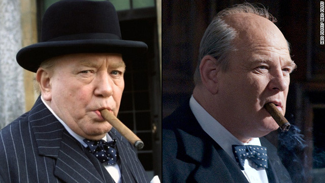 "Albert Finney played Winston Churchill at the onset of World War II in the TV film ""The Gathering Storm."" Brendan Gleeson, portrayed the prime minister in the 2009 continuation, ""Into the Storm."""