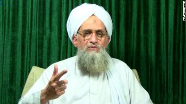 This still image from video shows Ayman al-Zawahiri appearing in an al Qaeda video released October 11.
