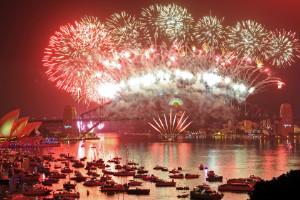 Celebration in Sydney