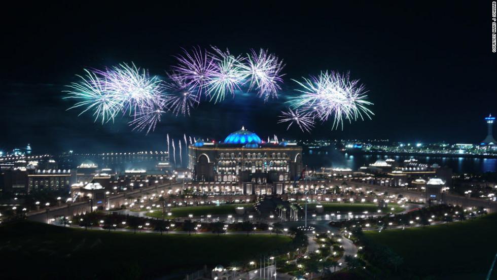 Fireworks illuminate Abu Dhabi