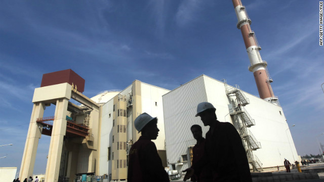 The Bushehr nuclear power plant in southern Iran.