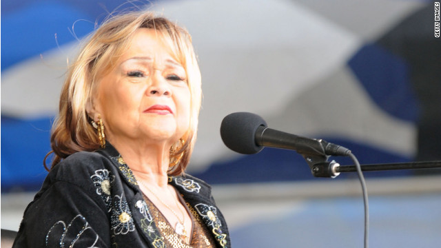 Singer Etta James, who is battling the final stages of terminal leukemia, is off the respirator and breathing on her own, but remains hospitalized.