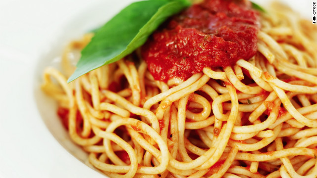 Breakfast buffet: National spaghetti day