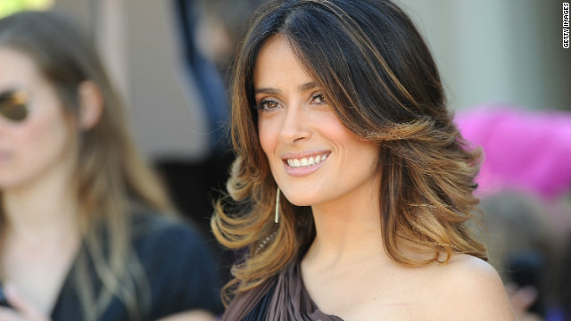 Salma Hayek named a Knight in France