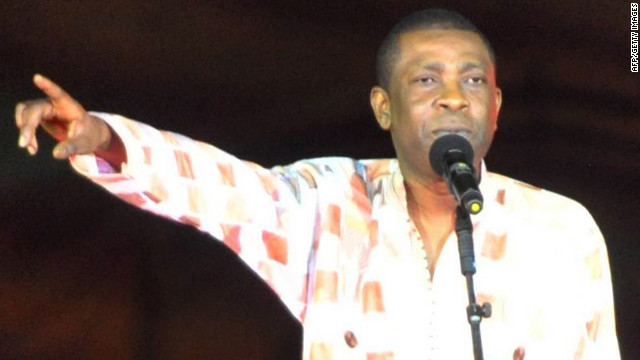 Senegalese singer Youssou N'Dour (pictured) has just announced his candidacy to become nation's president