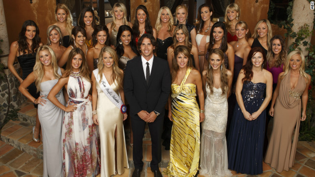 'The Bachelor' begins his quest