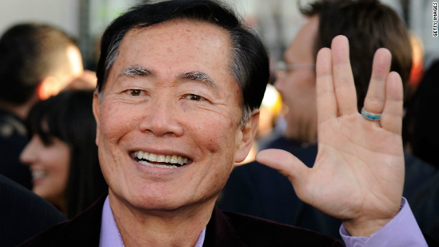 Overheard on CNN.com: George Takei, plus other stuff commenters like