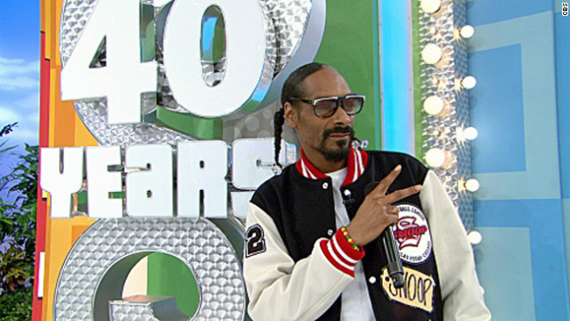 Snoop Dogg pays a visit to 'The Price is Right'