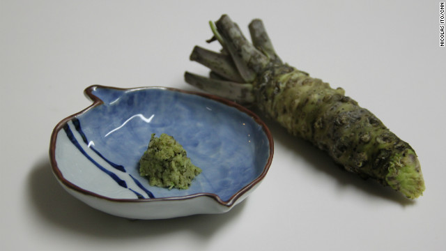 Wasabi - get a healthy boost from the fiery root