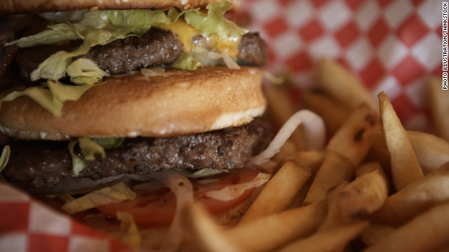 Study: High-fat foods cause brain scarring