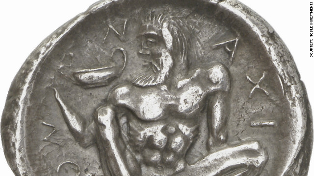 Paul Hill, expert on ancient Greek coins, says many of the examples in the collection are &quot;miniature works of art.&quot;