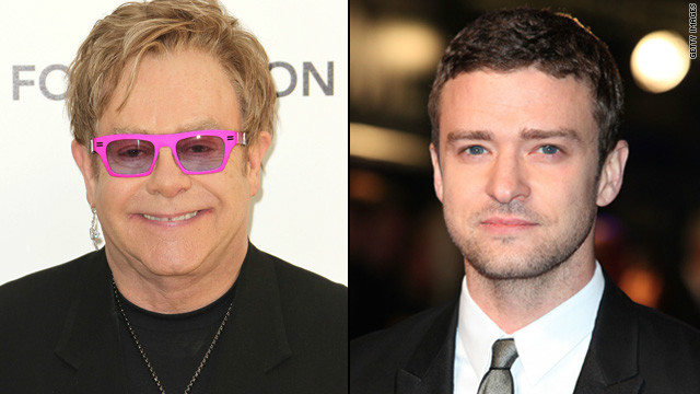 Elton John wants Justin Timberlake to play him in biopic