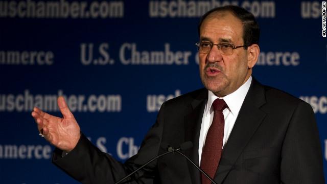 Iraqi Prime Minister Nuri al-Maliki has tenuous support among the Sunni population.