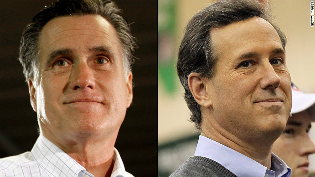Romney y Santorum, en la hora final por Arizona y Michigan