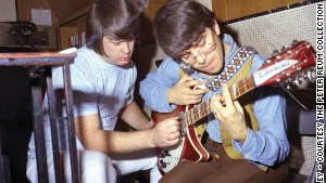 Van Dyke Parks (right, with Brian Wilson) was Wilson\'s \