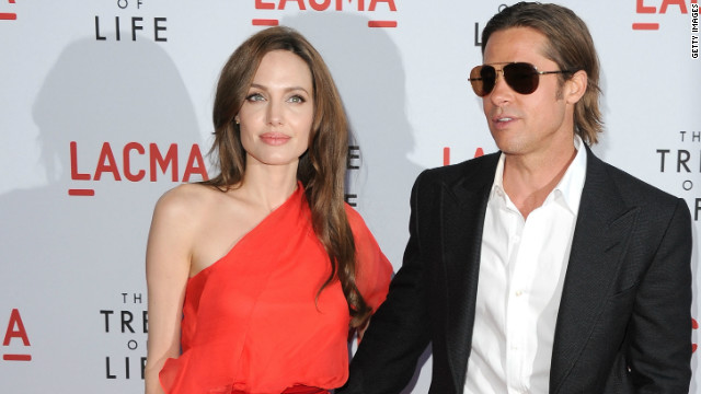 Pitt 'would like to' marry Jolie, won't say if he's proposed