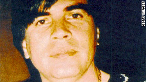 Benjamin Arrellano Felix is shown in this undated photo supplied by Mexican authorities in 2002.