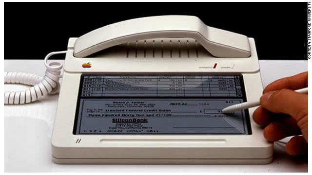 Apple creó el primer prototipo del iPhone en 1983...o algo similar