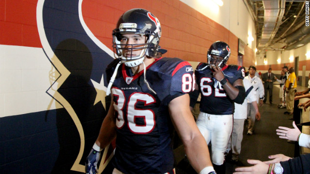 The Houston Texans play the first playoff game in franchise history Saturday against the Bengals.