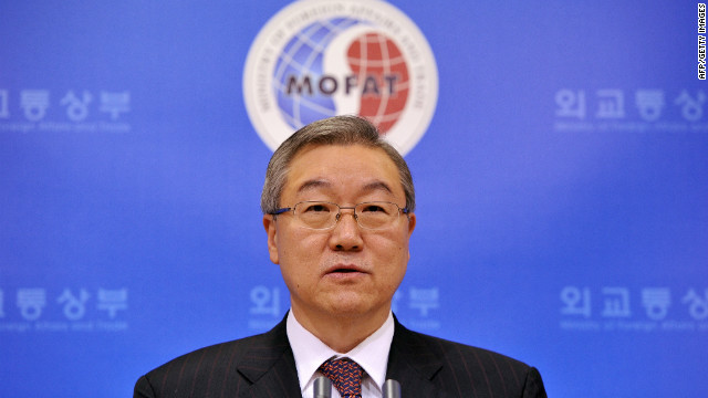 South Korea Foreign Minister Kim Sung-Hwan said no country in the region knows the intentions of North Korea's new leader.