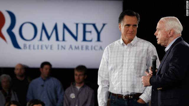 Mitt Romney is likely to have learned lessons from Sen. John McCain's pick of Sarah Palin as a running mate, says Gloria Borger.
