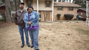 The Bryants were forced to sell their home for a substantial loss when both lost their jobs.