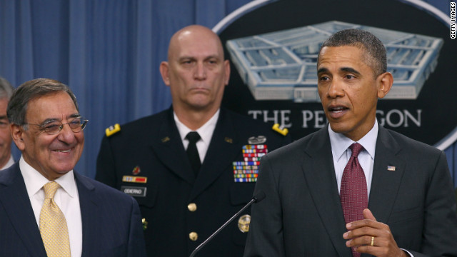 President Barack Obama and top defense officials unveiled Thursday a new U.S. defense strategy.